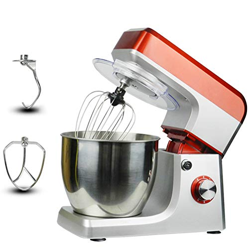 Electric Stand Mixer, 6-Speed ​​Deeg Mengen Kneden Eieren Blender Klopper 7L Keuken Wonen Voeding Milkshake Cake Mixer Machine 1200W High Power Mixer