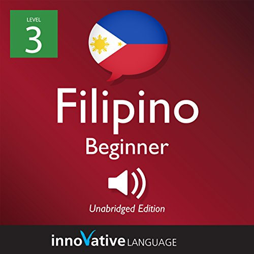 Learn Filipino - Level 3: Beginner Filipino cover art