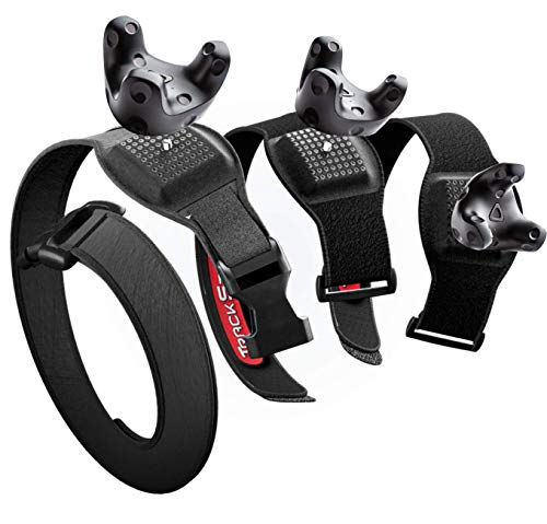 Rebuff Reality TrackBelt + 2 TrackStraps for Vive Tracker - Adjustable Straps and Belt for Full Body Tracking in VR and Motion Capture - Incredible Comfort and Tracker Stability