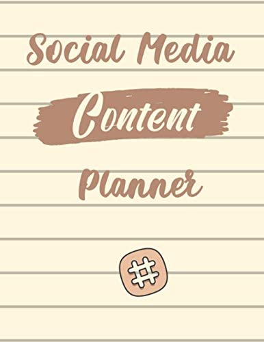 Social Media Content Planner Weekly Social Media Content Planner Including Keep All Accounts product image