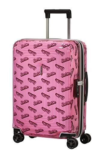 Samsonite Neopulse Barbie Maleta de Mano S (55cm-38L), Rosa (Barbie Transparent Pink)