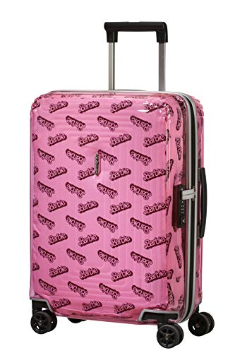 Samsonite Neopulse Barbie Maleta de Mano S (55cm-38L), Rosa (Barbie Transparent Pink)