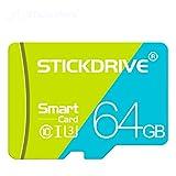 LuckyOne Tarjeta de memoria original de 128 GB 64 GB 32 GB de alta velocidad flash tarjeta 16 GB 8 GB memoria microsd TF/SD tarjetas para Tablet/cámara/teléfono móvil