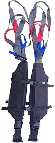418Fhr9JHvL - Grúa de paciente portátil Montacargas honda del paciente for el uso casero cinta de transferencia de la cómoda del paciente de la desventaja honda Cama de cuidado del cinturón de cintura ajustable Any