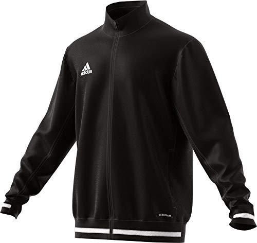 adidas Veste de Présentation pour Homme, Taille LT, Noir/Blanc