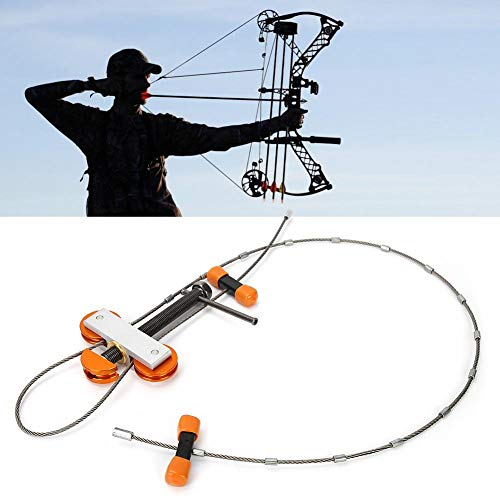 Bogenschießen Bogenpresse, leichte Aluminium Universal Jagd Bogenschießen Bogenpresse Compound Bögen Zubehör Werkzeug für Outdoor-Sport Bogenschießen Liebhaber