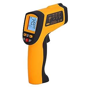 Termometro a infrarossi 900, indicatore di batteria scarica Termometro portatile senza contatto per la misurazione della temperatura della piscina o della temperatura degli alimenti