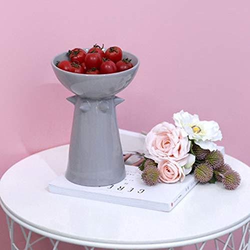 WANGXINQUAN Bocadillos creativos placa de fruta cerámica decoraciones de la mesa almacenamiento almacenamiento de la habitación frutas