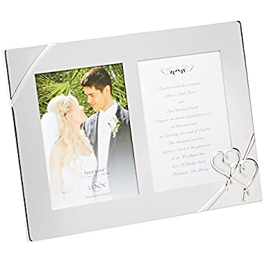 Lenox True Love Double Invitation Frame, 9-Inch