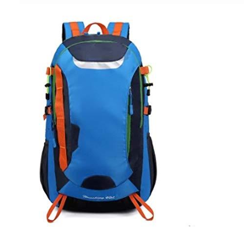 Walker Valentin Backpack IBHT Waterproof, Outdoor Backpack, Hiking Sports Bag, Hiking Backpack, Camping Hiking Backpack, 1 (Color : 40L Blue)