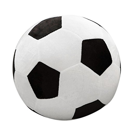 Lamdoo - Pelota de peluche de 25 cm con forma de balón de f