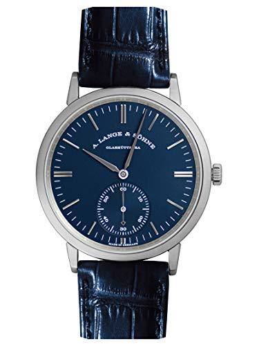 [ランゲ&ゾーネ] A.LANGE&S?HNE 腕時計 380.028 サクソニア オートマティック 38.5ミリ ブルー 新品 [並行...