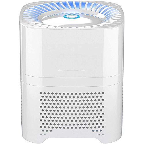 Giaogiao Huishoudelijke Luchtreiniger met True HEPA Filter, Luchtreiniger, Geschikt voor Allergie En Huisdieren Rokers, Bloemstof, Deodorant, Geschikt voor Familieslaapkamer