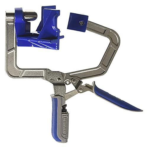 Herramienta de carpintería 1 unids Ajustable automático 90 grados Abrazadera de clip de clip de la abrazadera de carpintería de la abrazadera rápida de la abrazadera de la imagen Mano de la esquina he