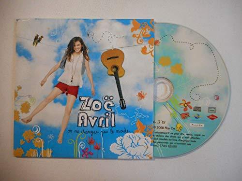 Zoë Avril - On ne changera pas le monde 1-trk - cds - PROMOTIONAL ITEM