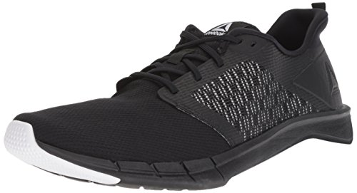 Reebok Men's Print Run 3.0 Shoe,black/white,11 M US