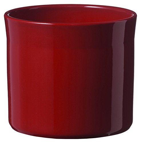 soendgen Maceta para Flores, de cerámica, Modelo Miami, Arcilla, Burdeos, 15 x 15 x 13 cm