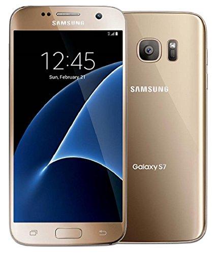 Samsung Galaxy S7 - GSM Unlocked 4G LTE T-Mobile - 32GB Smartphone - Gold (Renewed)