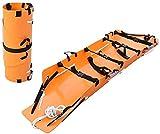 HMMN Camilla Rescate Transporte Camilla montaña Sistema de Rescate básico portátil Rollo Multifuncional Tipo Suave