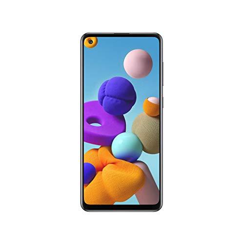 SAMSUNG Smartphone Galaxy A21s 6.5' 64GB/4GB Cámara 48MP+8MP+2MP+2MP/13MP Octacore Android 10 Color Negro