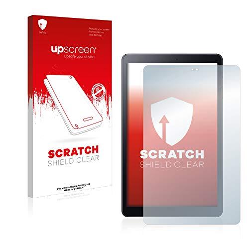 upscreen Schutzfolie kompatibel mit Samsung Galaxy Tab A 10.5 2018 LTE – Kristallklar, Kratzschutz, Anti-Fingerprint