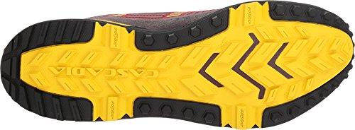 Brooks Cascadia 13 Red/Yellow/Black 9.5