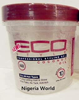 Shreeyas Free Delivery World Eco hair Styler styling gel Gel / 236ml (1 bottles) : brown