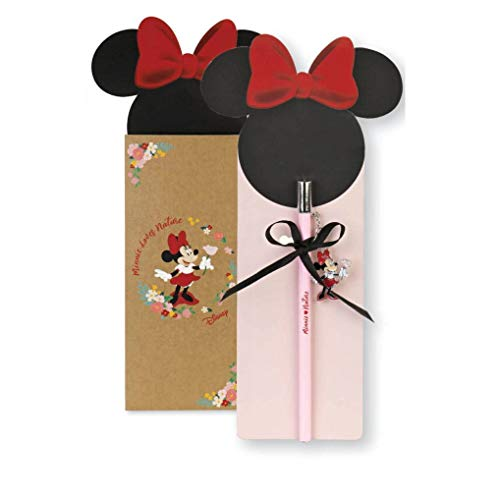 Cupido Formoso Bombonera de lápiz Minnie Disney Love Natural h 17,5 cm con caja Art 69596