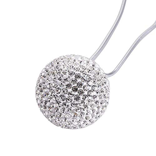 """Happy reunion Crystal ball hanging ornament charms 1.37"""" Car Hanging Decor Ornament Decoration Rearview Mirror Pendant Car Accessories for Car Interior Decoration Car Accessories"""