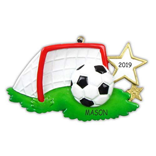 DIBSIES Personalized Soccer Sports Christmas Ornament