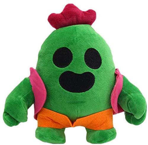 Super Soft Short Plush, 20Cm Anime Game Spike Model Doll Peluche De Peluche para Niños Cactus