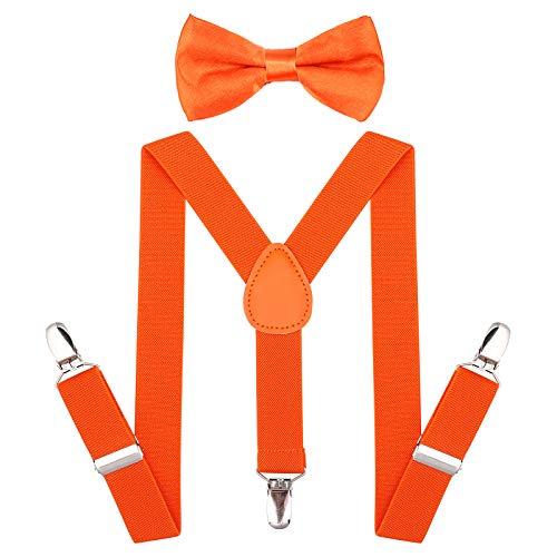 Child Kids Suspenders Bowtie Set - …