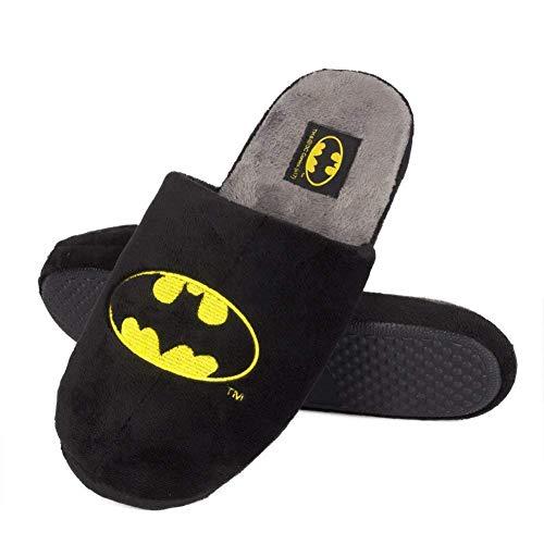 soxo Pantofole Invernali | Ciabatte da casa Calde e Confortevoli per Uomo | Batman DC Comics Pantofole Originali…