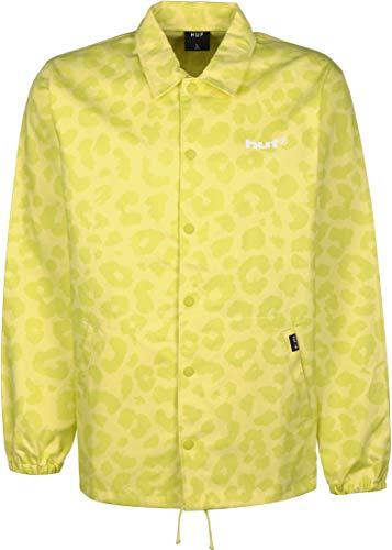 HUF Neo Leopard Windbreaker hot Lime