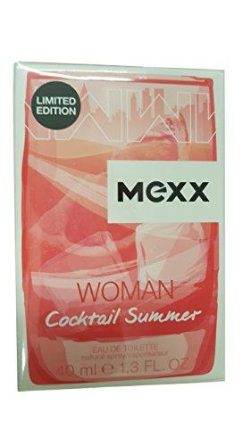 Mexx Woman Cocktail Summer Eau de Toilette Spray 40 ml