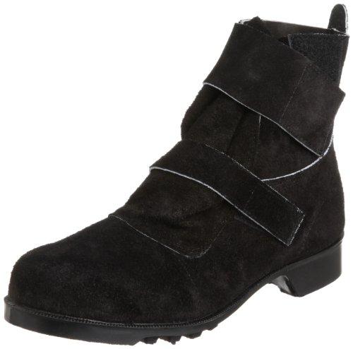 [ミドリ安全] 安全靴 JIS規格 二種耐熱靴 熱場作業用 長編上靴 V4009 メンズ ブラック JP 23.5(23.5cm)
