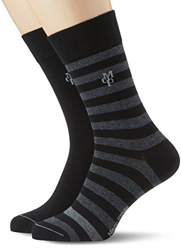 Marc O'Polo Body & Beach Herren Legwear Socks (2, 2er Pack, Gr. 39/42 (Herstellergröße: 403), Mehrfarbig (sortiert 1 901)