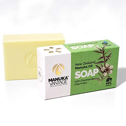 ManukaVantage New Zealand Manuka Oil Soap with Chamomile 125g