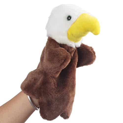 Guangtian Haarige Tierkarikatur Plüschhandpuppenspielzeug