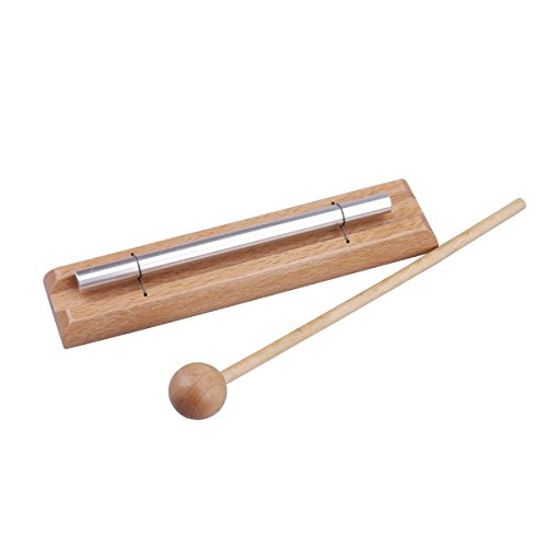 ROSENICE Solo Percussion Instrument with Mallet Musical Chime Toys 1 Set for Children