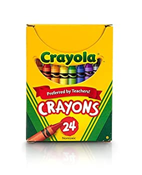 Crayola Classic Color Pack Crayons Tuck Box 24 per Pack  52-0024