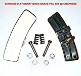 Pair of Schwinn Indoor Cycle Brake Replacement KIT with Hardware for Schwinn Indoor Stationary Exercise Bikes/Cycles/Bicycles -New After Market Replacement for (OEM # 92874) | by SBD