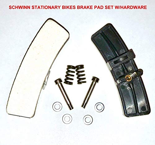 SB Distribution Ltd. Pair of Schwinn Indoor Cycle Brake Replacement KIT with Hardware for Schwinn Indoor Stationary Exercise Bikes/Cycles/Bicycles -NEW After Market Replacement for (OEM # 92874) | by SBD