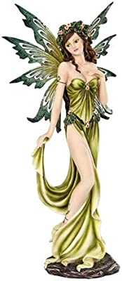 Pacific Giftware Fairyland Collection Fantasy Elemental Fairy -Earth, 12 Inches