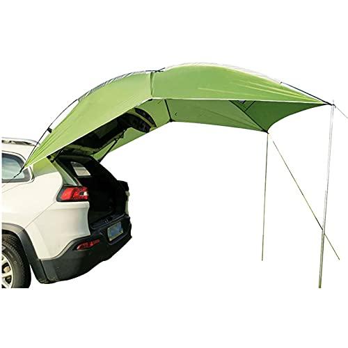 Toldo Portátil Sun 280 * 190 Cm Al Aire Libre Sombra A Prueba De Lluvia Vehículo Carpa Trasera Refugio Carpas para Acampar Viajes Al Aire Libre