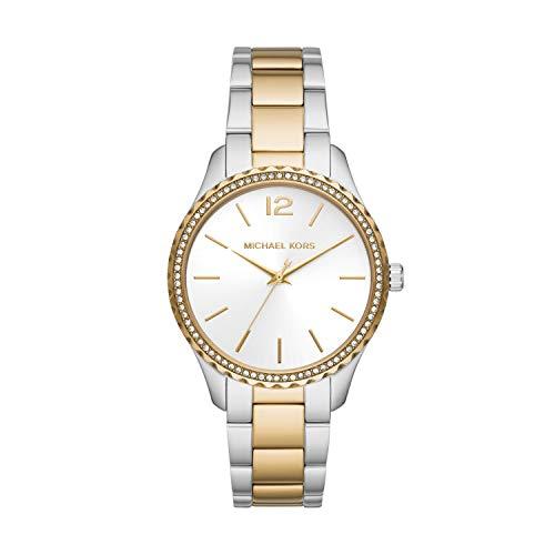 Michael Kors Reloj Analógico para De Las Mujeres de Cuarzo con Correa en Acero Inoxidable MK6899