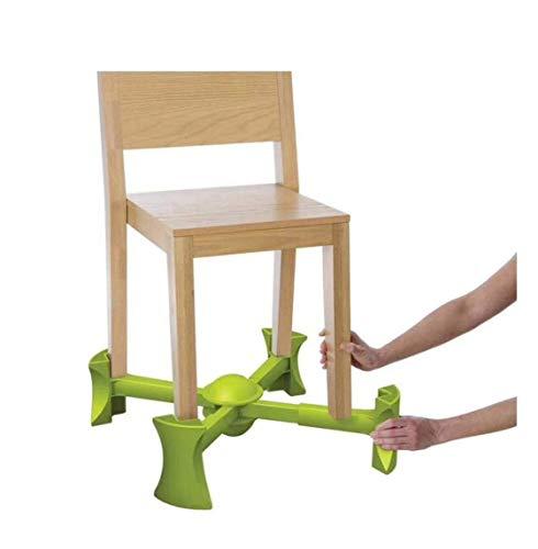 Alzadores de asiento Asientos elevadores para bebés, silla elevadora 2 posiciones de altura, para niños de hasta 6 años, portátil, verde lima, viajes, mesa de comedor