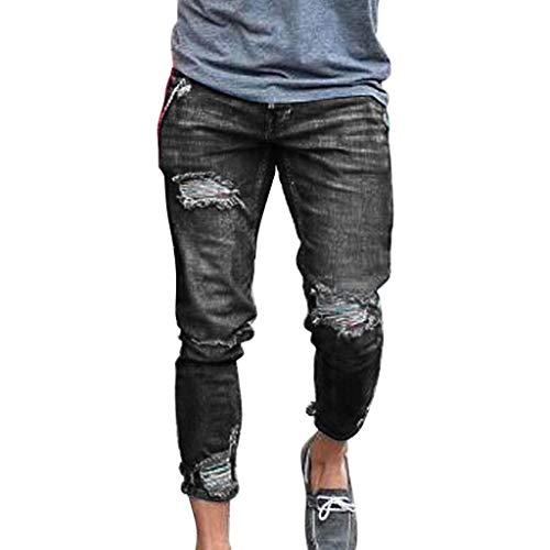 Attrezzature per arbitri e Allenatori,Pantaloncini Uomo con Protezione Solare,Pantaloncini Uomo Jeans Corti,Grigio,M