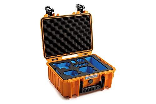 B&W - Maletín de Transporte para GoPro 9 Tipo 3000 (Impermeable, Certificado IP67, Resistente al Polvo, irrompible), Color Naranja