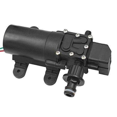 Xenterio ATS-1 Hochdruck-Membran-Wasserpumpe mit Gartenschlauch-Anschluss, 12V-, 50W, selbstansaugend